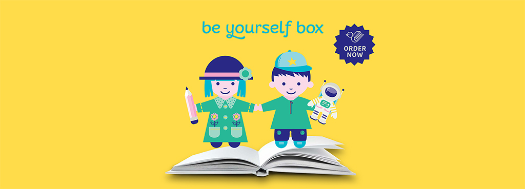 Be yourself box - buy now