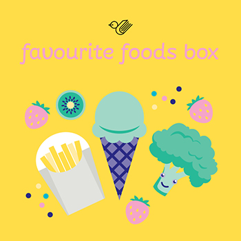 Favourite foods box - order now