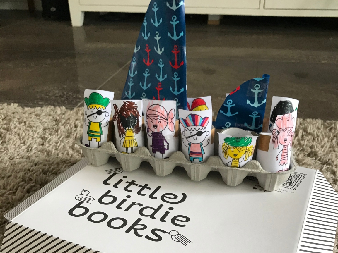 Little Birdie Books in the eyes of an OccupationalTherapist