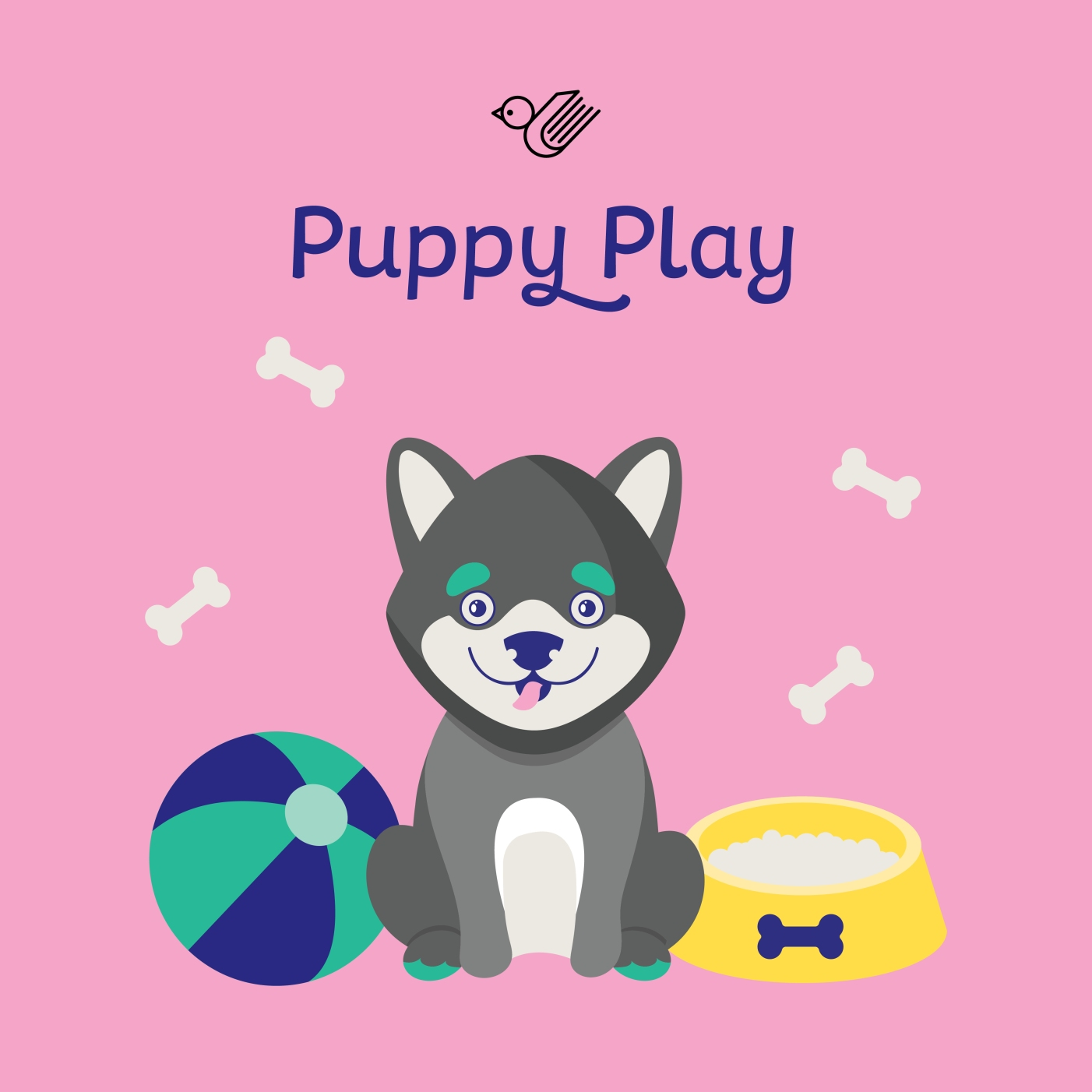 Puppy Play box - order now