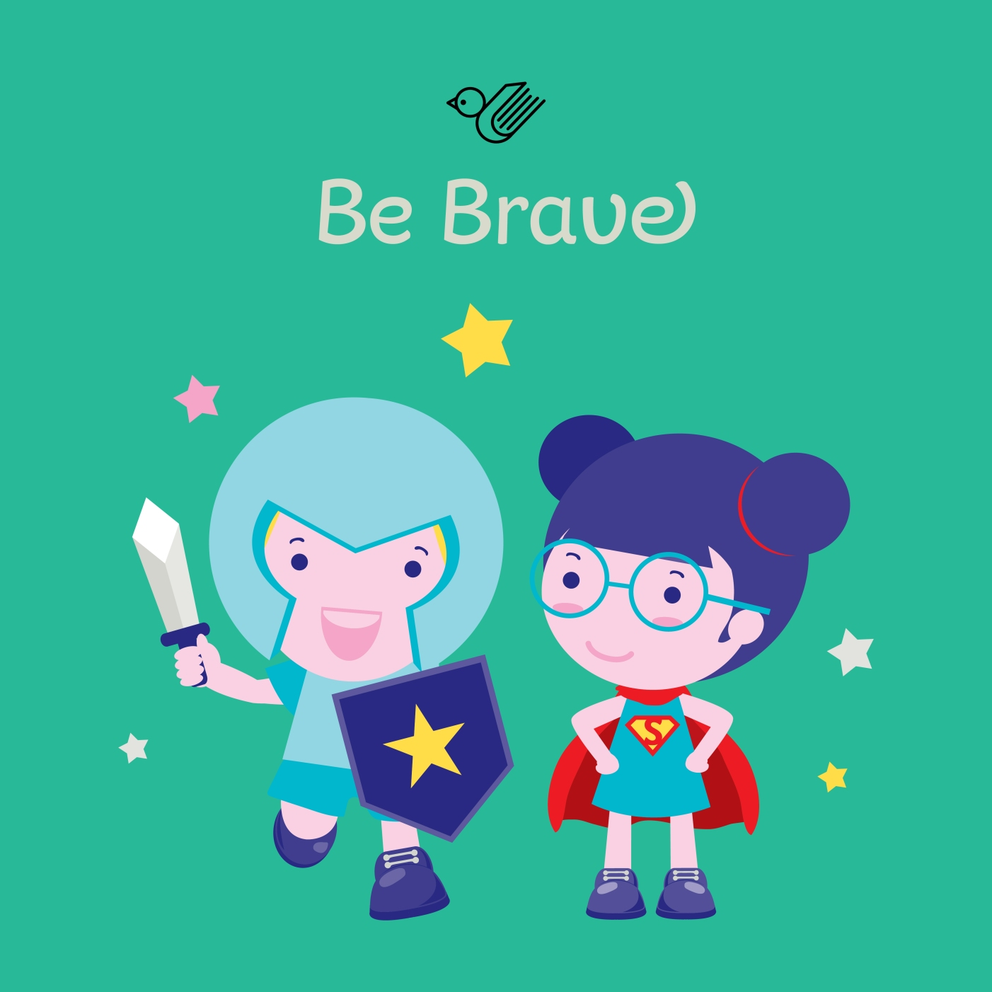 Be Brave book box - order now