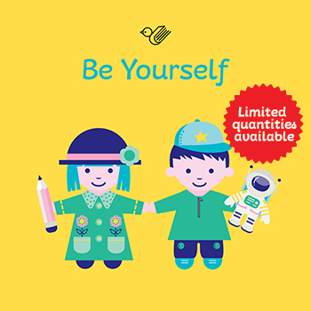 Be yourself book box - order now