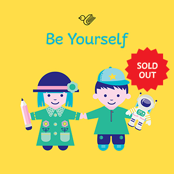 Be yourself book box - sold out