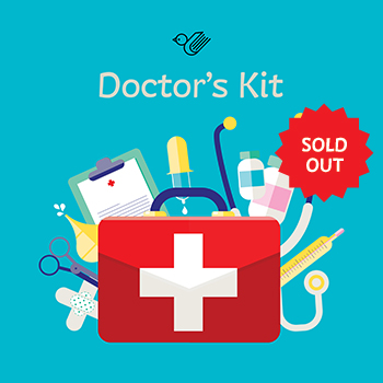 doctors kit book box