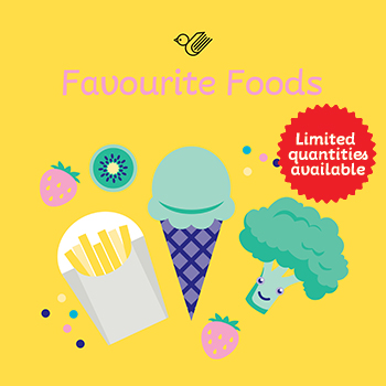 Favourite foods book box - limited quantities