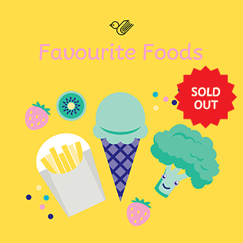 Favourite foods book box - sold out